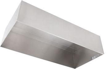 Heat Amp Condensate Exhaust Hood